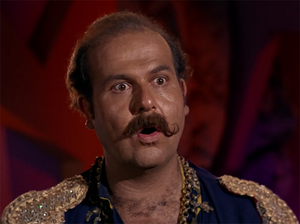 The Original Harry Mudd, played by Robert C. Carmel
